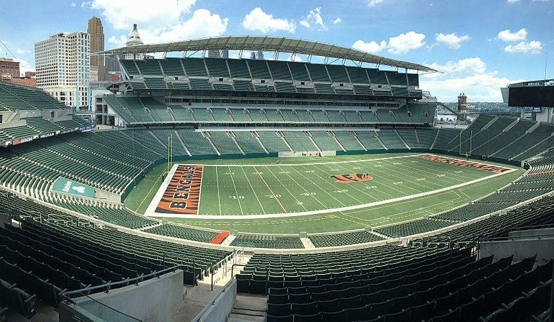 Paul Brown Stadium Cincinnati Estadio de Fútbol del Mundial Canadá-Estados Unidos-México 2026/Football Stadium of the Canada-United States-Mexico World Cup 2026