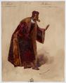 Paul Lormier - Costumes for Hector Berlioz's Benvenuto Cellini (1838) - No.9 - Balducci - Restoration.png