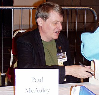 Paul J. McAuley - Paul McAuley at Worldcon 2005 in Glasgow