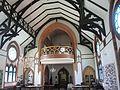 Pauluskirche Wladiwostok innen Empore 2016-07-30.jpg