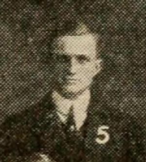 Simon F. Pauxtis - Pauxtis at Dickinson c. 1911