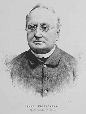 Pavel Křížkovský - Pavel Křížkovský (1885)