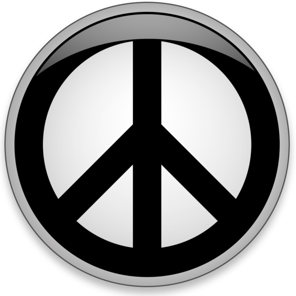 Peace Button Largeg