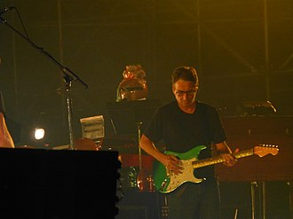 Stone Gossard - Stone Gossard on stage with Pearl Jam, in Padua, Italy on June 24, 2018