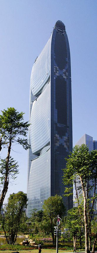 China Tobacco - Pearl River Tower, the new office at Guangzhou