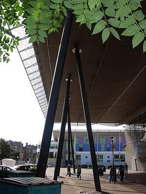 Peckham Library - Image: Peckham library columns
