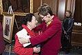 Pelosi honors Kaptur as longest serving woman in House history (25959505867).jpg