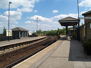 Penistone railway station Railway station in South Yorkshire, England