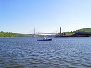 Penobscot Narrows Bridge, carrying U.S. 1