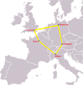 Pentagone européen European pentagon.png