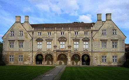 The Pepys Building of Magdalene College, Cambridge PepysLibraryCambridge.jpg