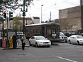 Perly Thomas St Charles Streetcar at Poydras and Carondelet New Orleans January 2007.jpg