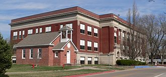 Peru State College - Image: Peru State College, schoolhouse and Majors