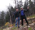 Pete and I on Pot Peak - Flickr - brewbooks.jpg