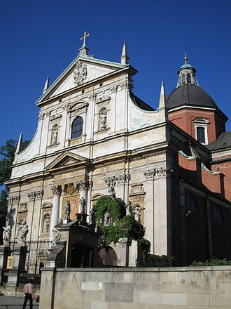 Baroque in Poland - Image: Peter&Paul church krakow
