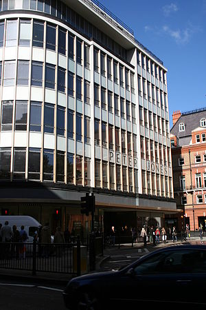 Charles Herbert Reilly - Reilly was consultant architect for the modernist Peter Jones store, 1934