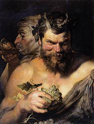 Peter Paul Rubens: Two Satyrs