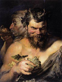 Peter Paul Rubens - Two Satyrs - WGA20303