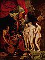 25 / Gemäldezyklus für Maria de' Medici, Königin von Frankreich, Szene: Die Erziehung Marias