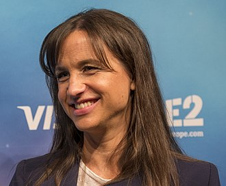Petra Mede - Petra Mede at a press conference at the Eurovision Song Contest 2016