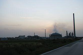 Kutina - Kutina Petrochemical Plant
