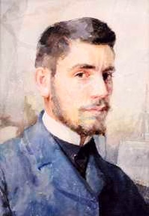 Nikola Petrov (painter) - Self-portrait (date unknown)