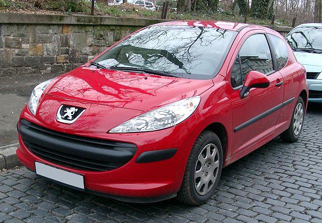Peugeot 207 front 20071212