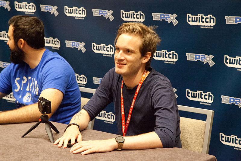 File:PewDiePie at PAX 2015.jpg