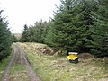 Pheasant feeder in Stang Forest - geograph.org.uk - 365550.jpg
