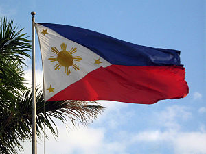 Flag of the Philippines - Flag of the Philippines at the Philippine International Convention Center