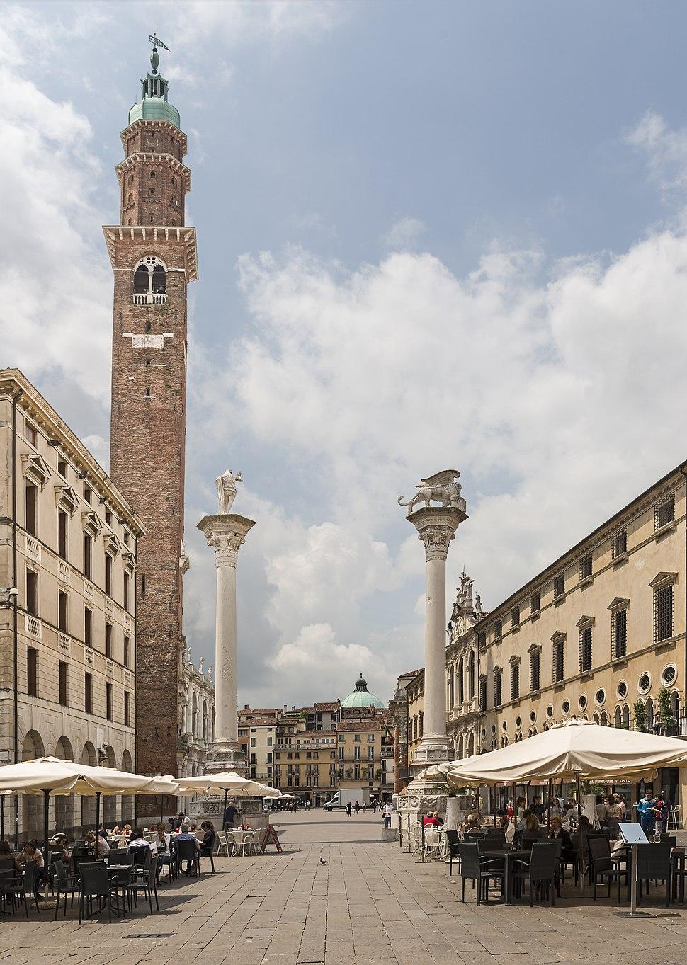 Piazza dei Signori - Torre Bissara - Vicenza