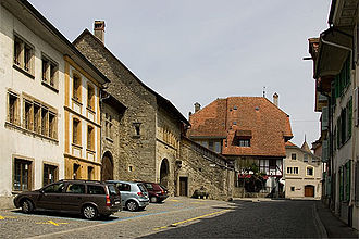 Estavayer-le-Lac - Old city of Estavayer-le-Lac