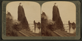 Picturesque grandeur of the great Columbia River, remarkable 'Pillars of Hercules' (W) Oregon, from Robert N. Dennis collection of stereoscopic views.png
