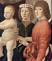 Piero della Francesca - Madonna and Child Attended by Angels (detail) - WGA17608.jpg