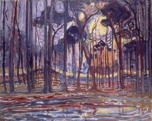 Piet Mondriaan - Forest