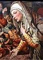 Pieter aertsen, gesù in casa di maria e marta, 1555 ca. 03.jpg