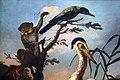 Pietro neri scacciati, uccelli e una scimmia in un paesaggio con fiori, 1700-40 ca. 02.JPG