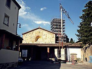 Montemurlo - Image: Pieve di San Giovanni Decollato L