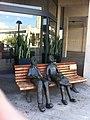 PikiWiki Israel 14128 Statue in memory of grandparents.JPG