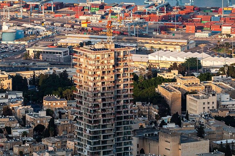 העיר התחתית בחיפה