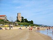 Tratto di spiaggia tra Silvi Marina e Pineto