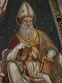 Pinzolo, San Vigilio, interior frescos 022.JPG