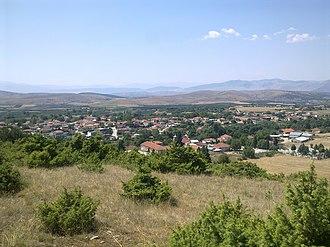 Pyrgoi - Image: Pirgi Katranitsa View Sveti Konstantin Hill