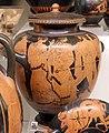 Pittore della nascita di atena, stamnos con scena di inseguimento, 460-450 ac. ca., dalla tomba dei vasi greci alla banditaccia 01.jpg