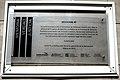 Placa de señalización como sitio de memoria colocada en 2013 en el Espacio de Memoria ex Comisaría Cuarta en la ciudad de Santa Fe - Niamfrifruli 03.jpg