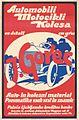 Plakat za J. Gorec - automobili, motocikli, kolesa 1923.jpg