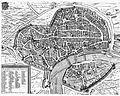 Plan de la villi de Tholose 1631 Melchior Tavernier.JPG