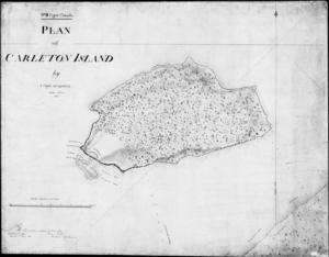 Carleton Island - Map of Carleton Island, 1810