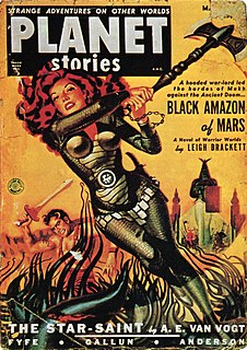 <i>Planet Stories</i> 20th-century American pulp science fiction magazine