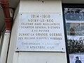 Plaque Cinquantenaire Armistice 1918 Gare Noisy Sec 1.jpg